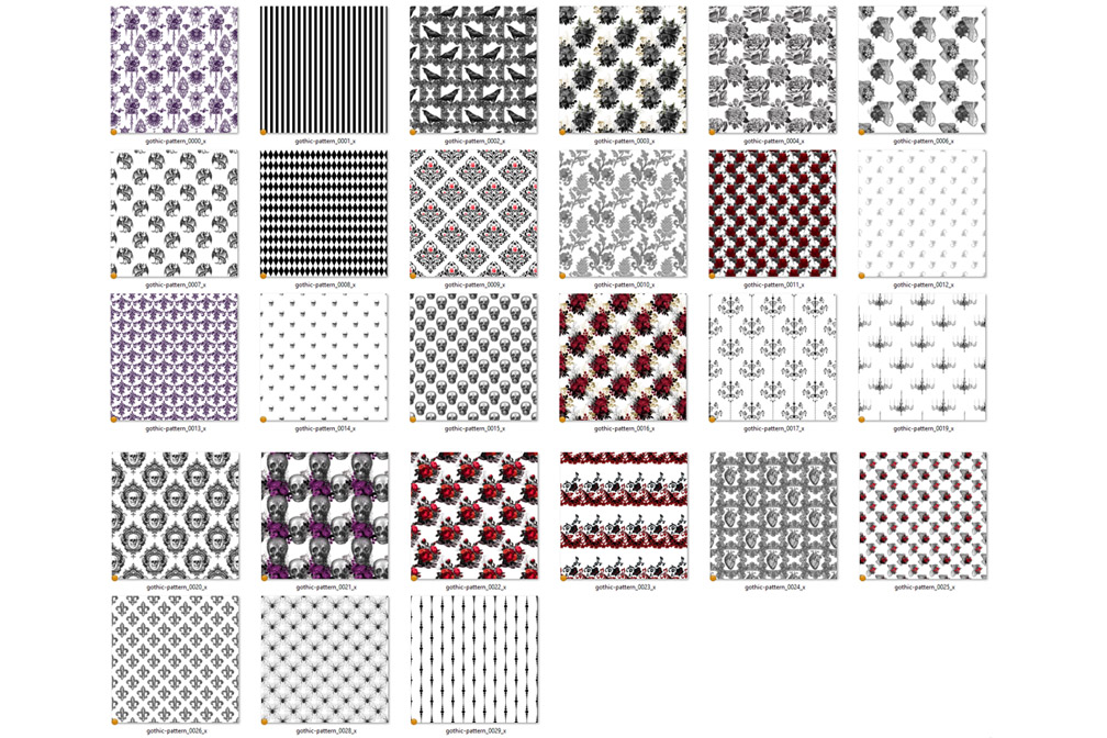 Gothic Pattern Overlays example image 3
