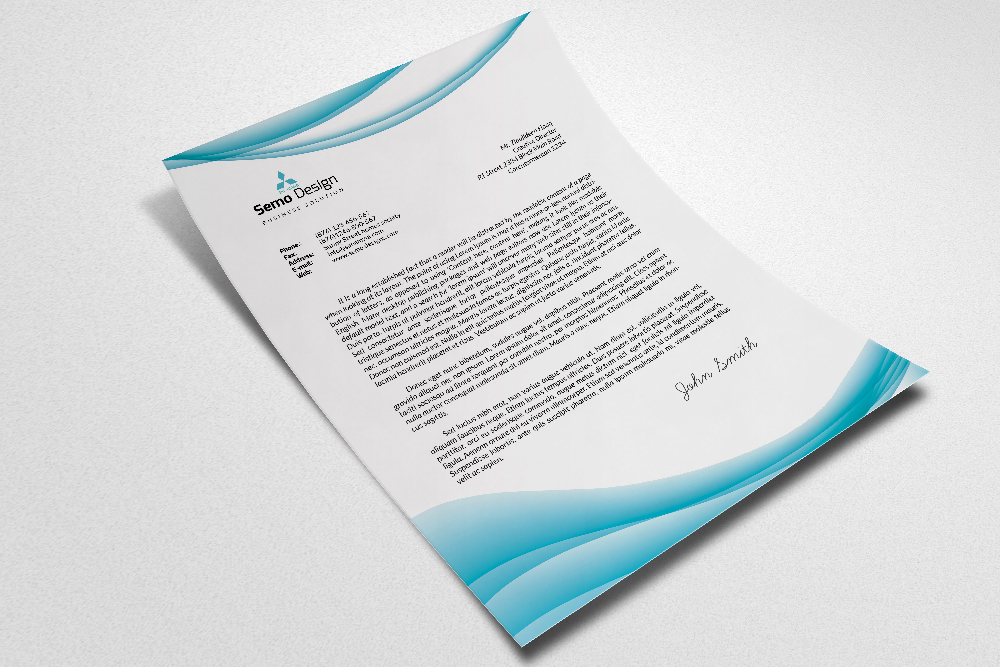 Business Letterheads Psd  Template example image 2