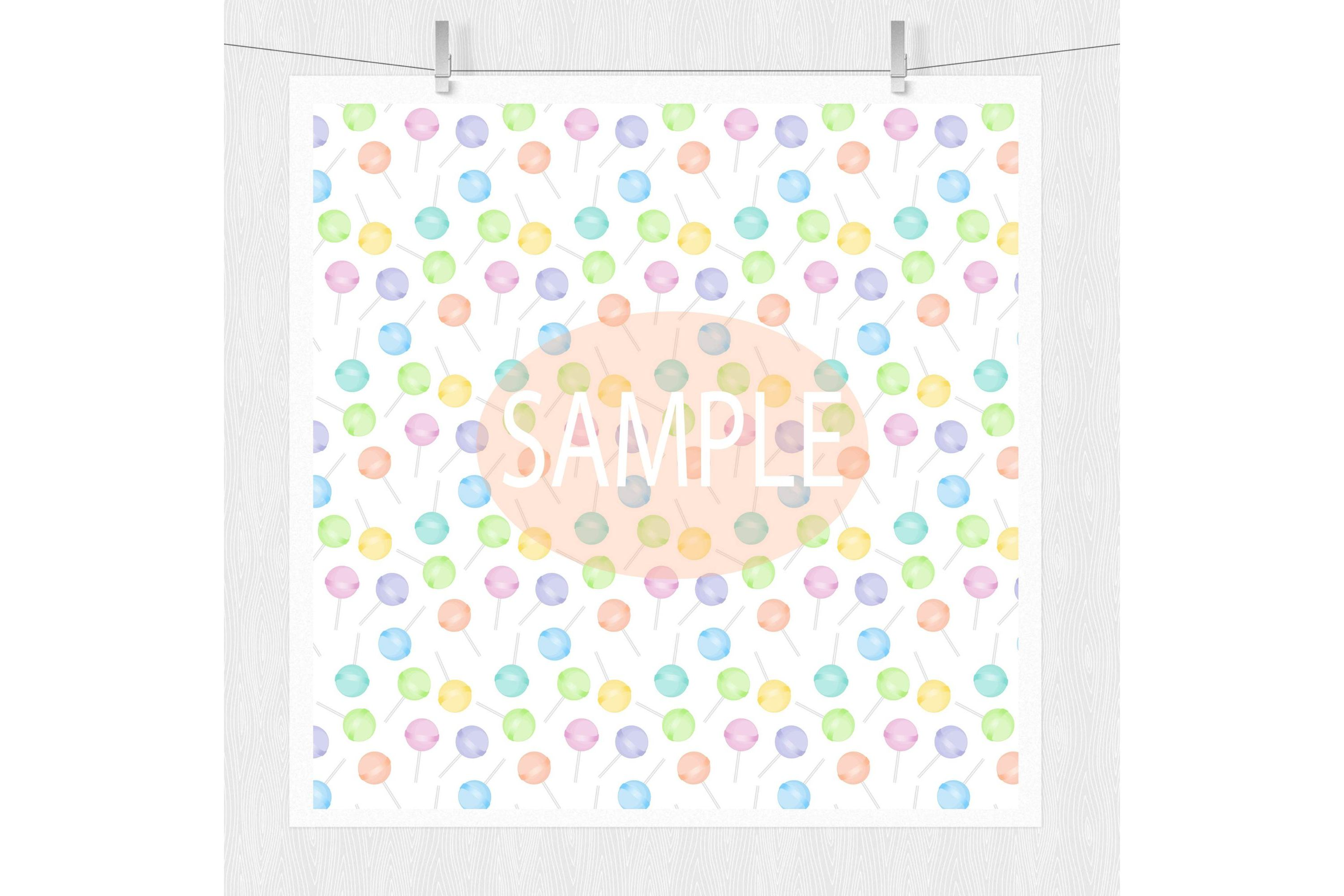 Candy Pattern Backgrounds example image 4