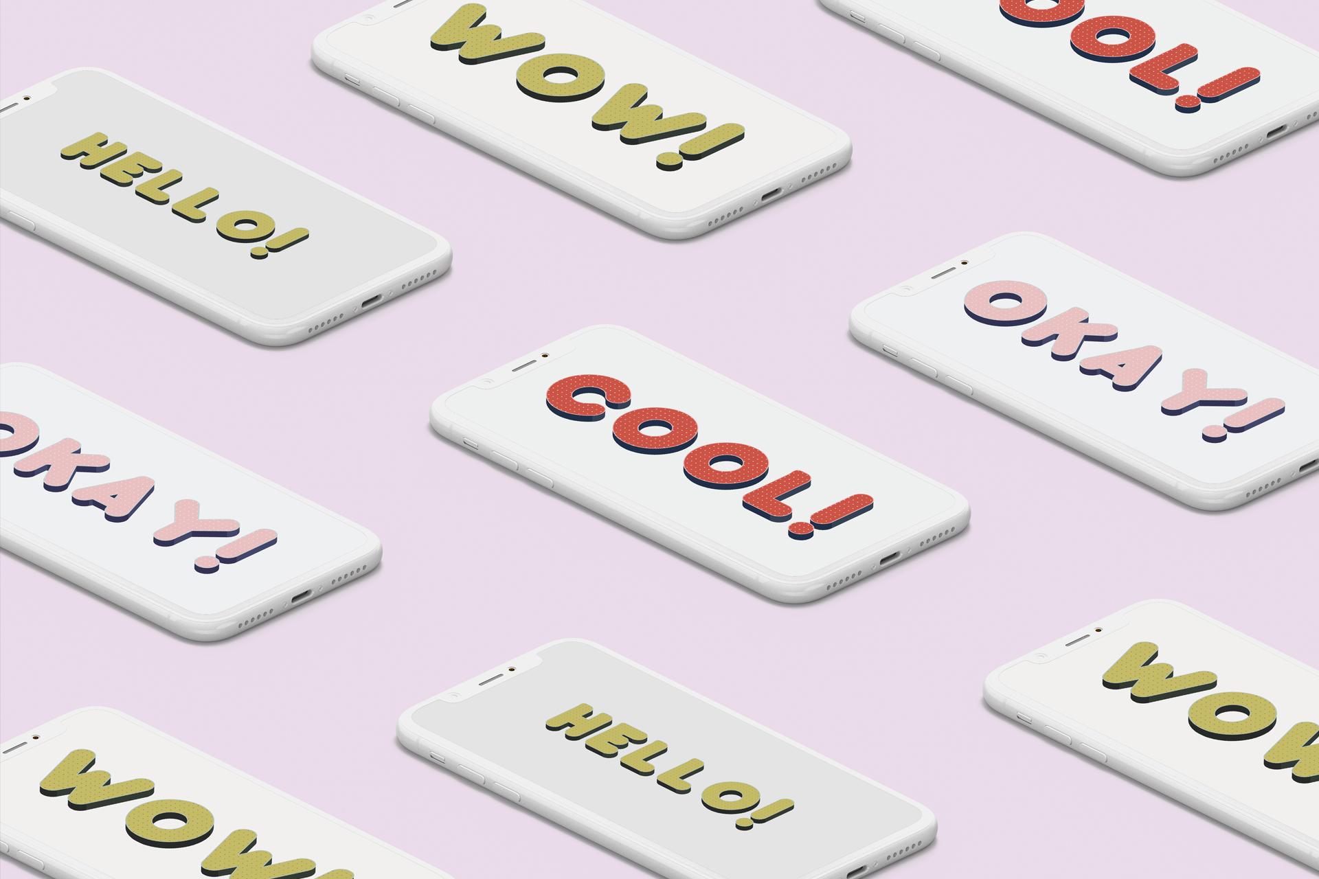 Baku - SVG color font example image 6