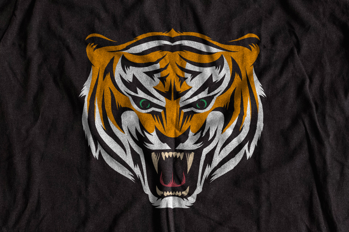 Tiger Mascot Template example image 2