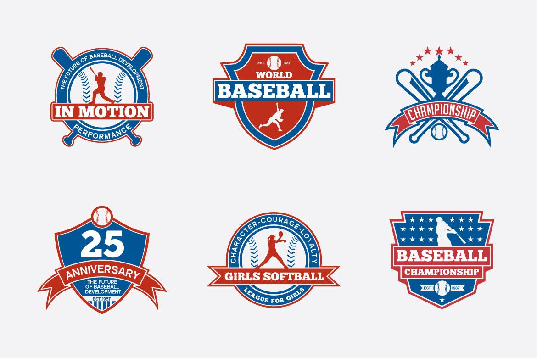 173 Sports Badges and Logo Bundle example image 2