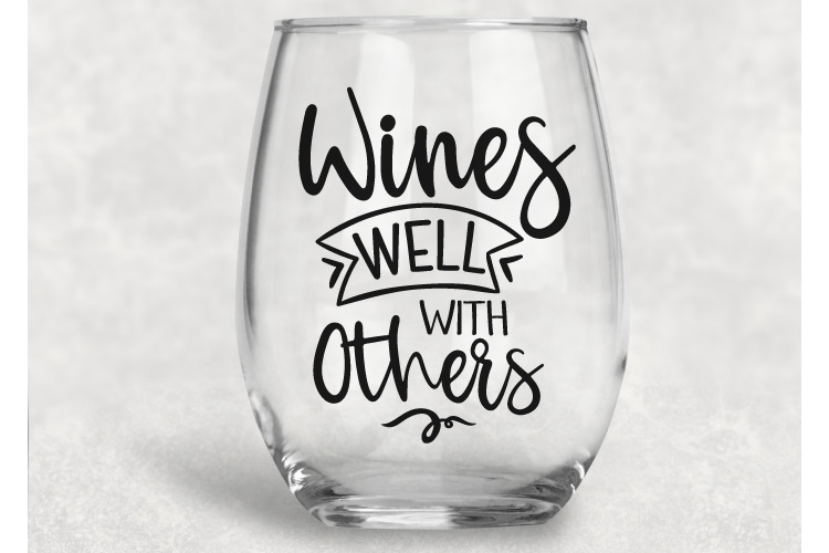 Wine Quotes Bundle Vol 2 - SVG, EPS, DXF, PNG example image 4