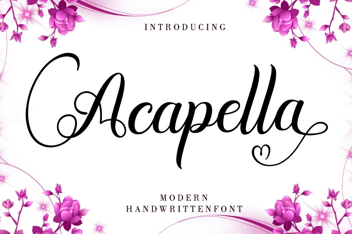 Acapella example image 1