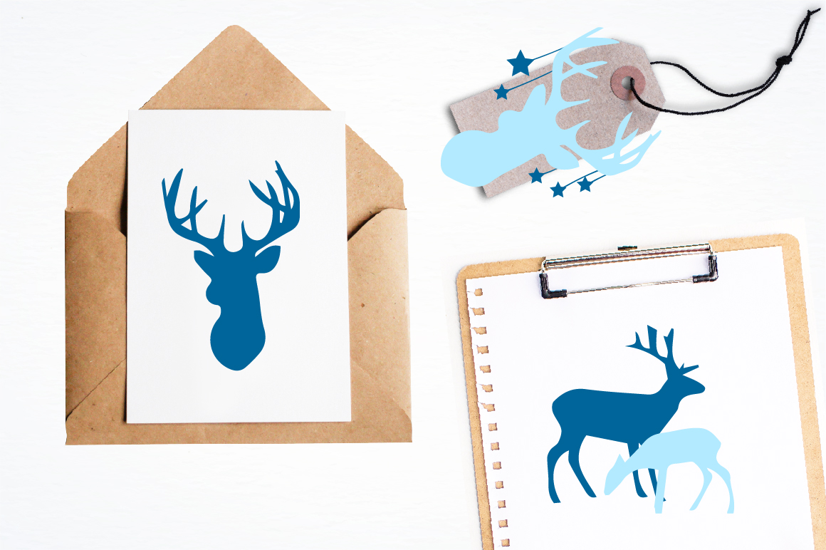 Nursery deers graphics and illustrations example image 4