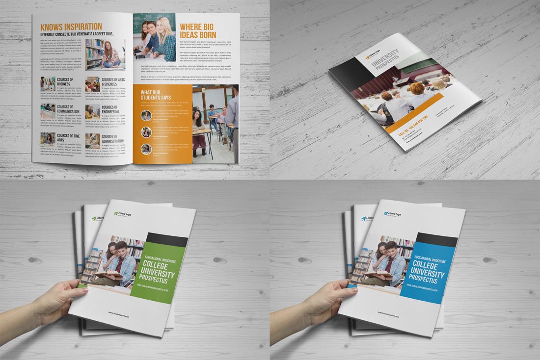 Education Brochure Bundle v2 example image 3