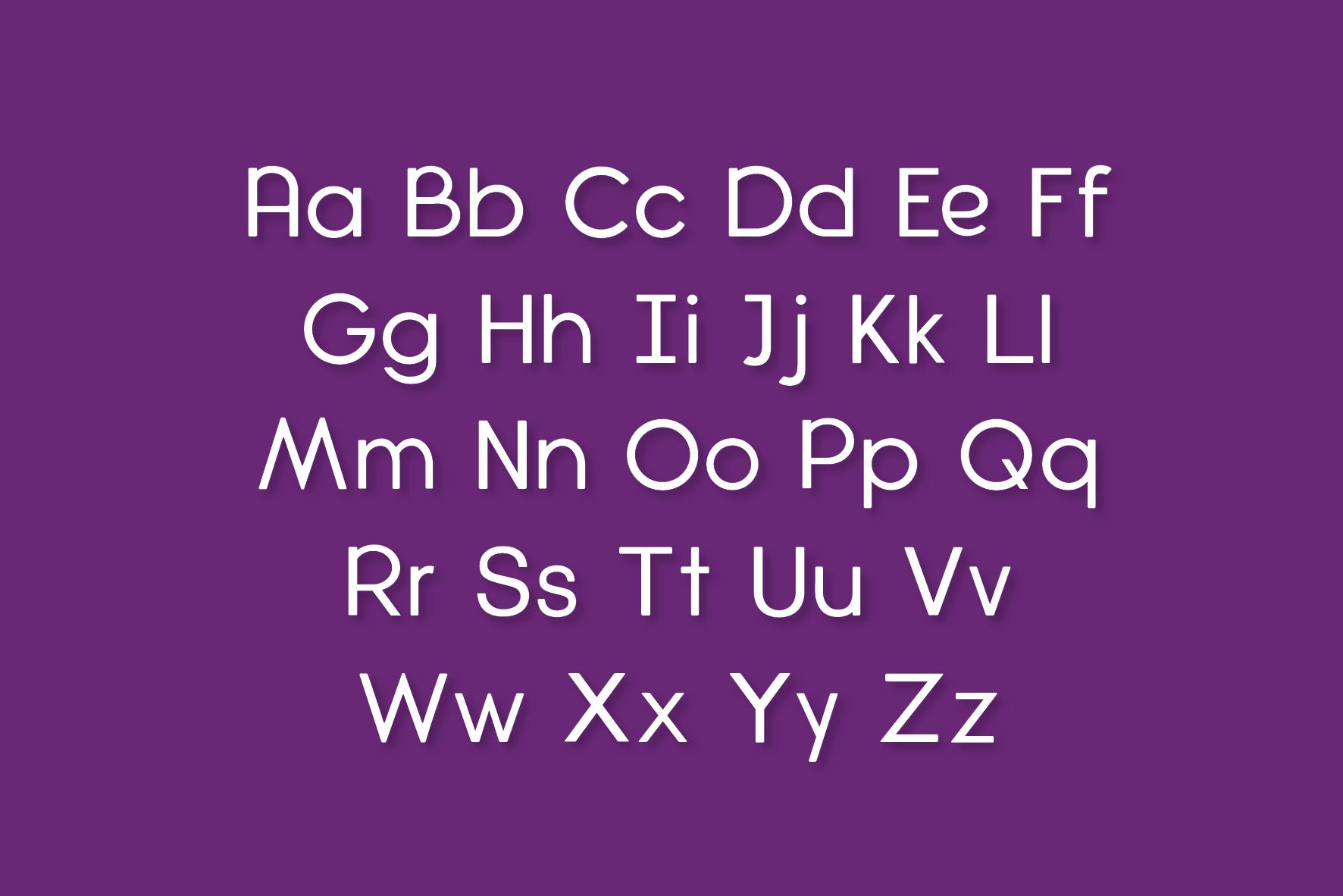 Diamanda Oulines Duo Font example image 4