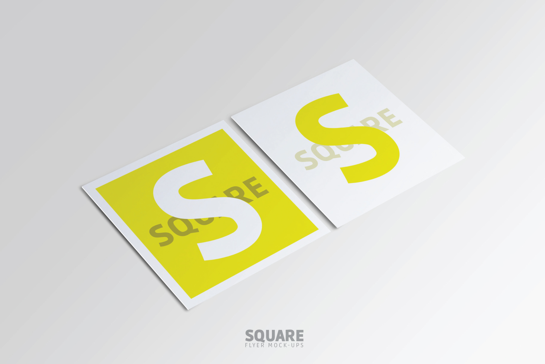 Square Flyer Mock-Up example image 8