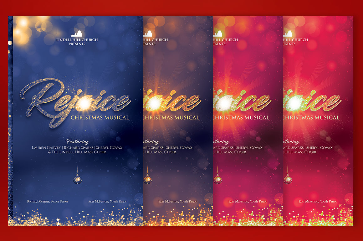 Rejoice Christmas Cantata Program Template example image 5