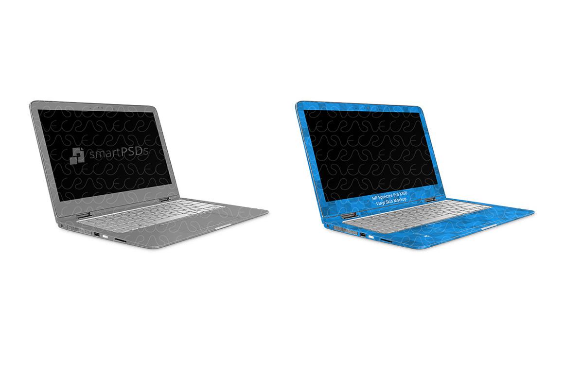 HP Spectre Pro X360 G2 Laptop Skin Design Template 2018 example image 3