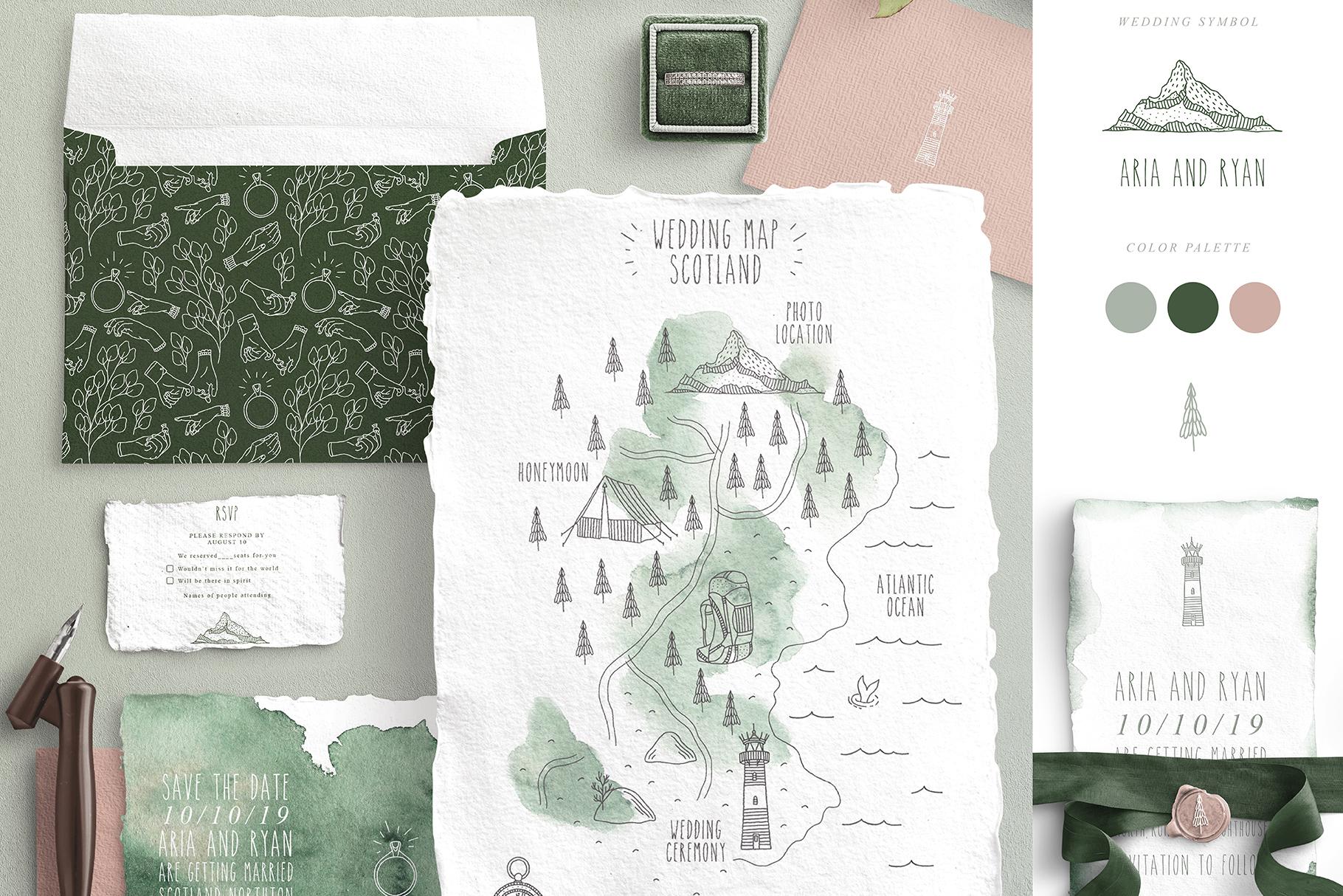 Wedding Map Creator example image 3