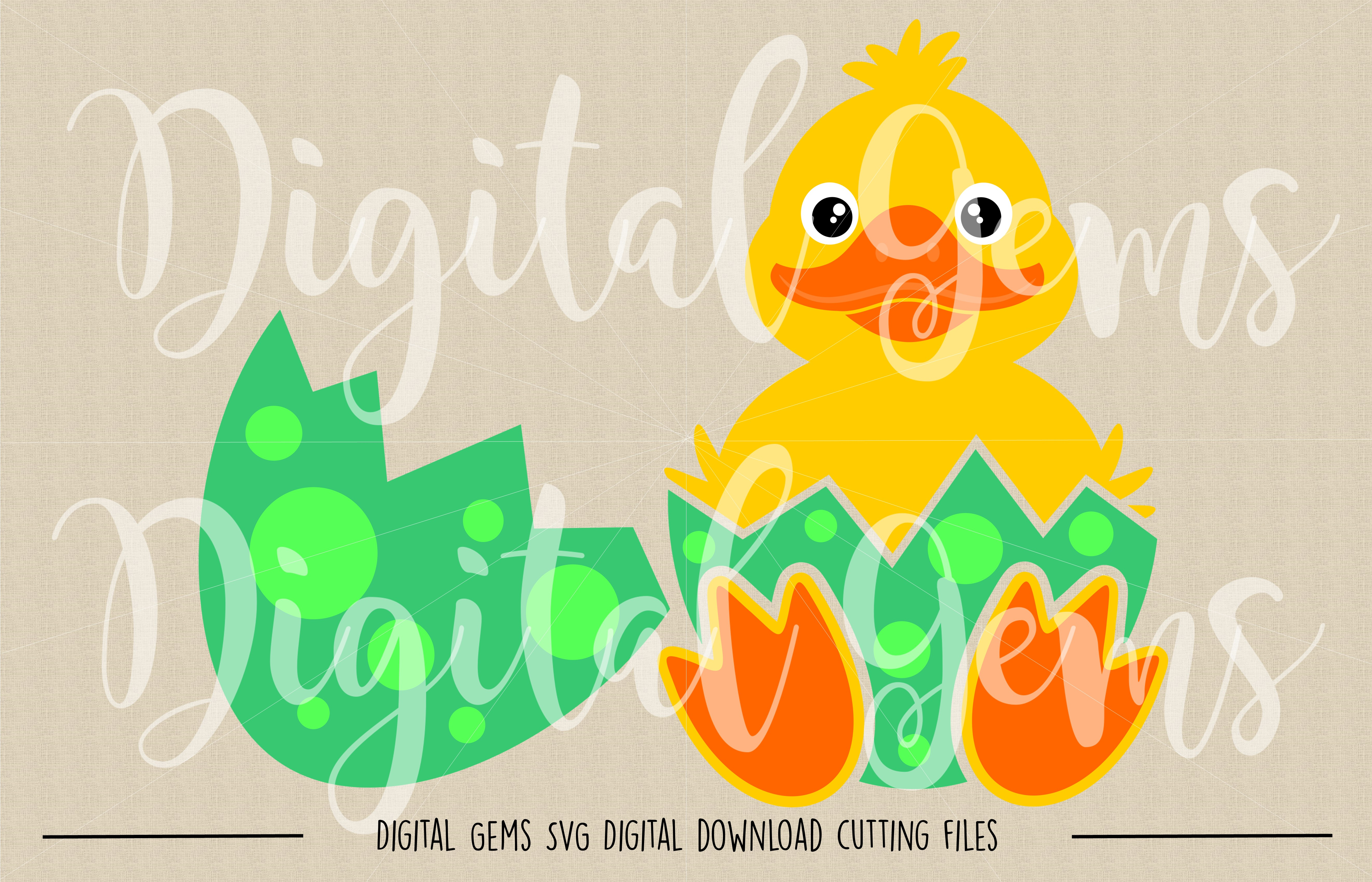 Duck SVG / PNG / EPS / DXF Files example image 2