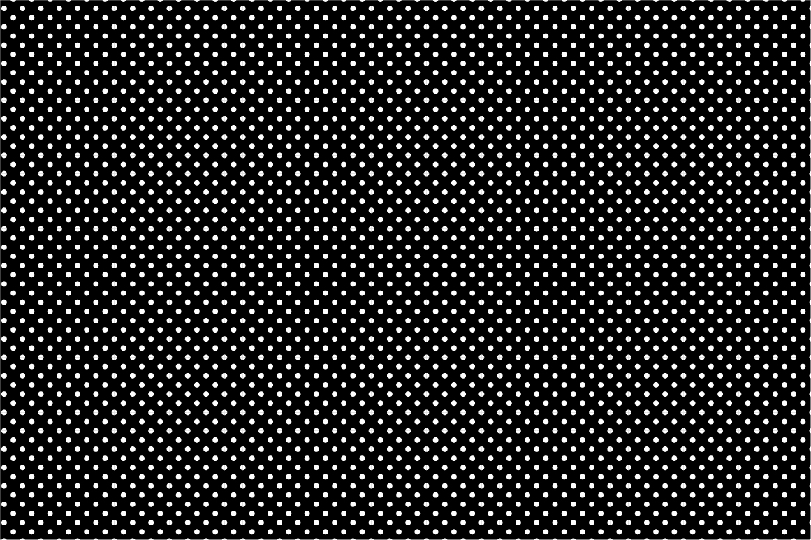 Collection of seamless patterns. B&W example image 2