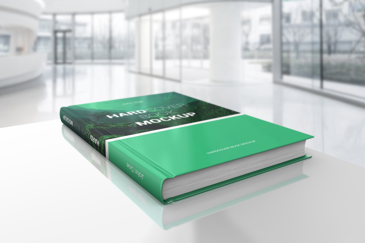 Hardcover Book Mockups example image 4