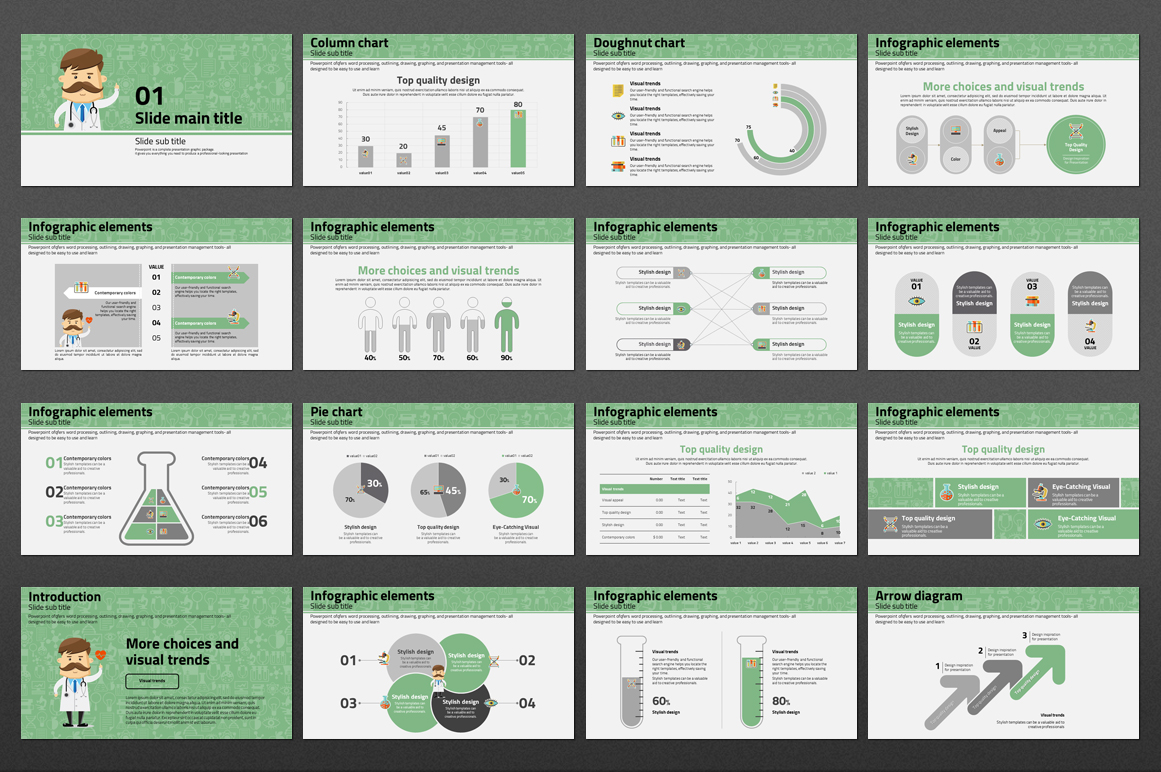 Doctor PowerPoint Template example image 4