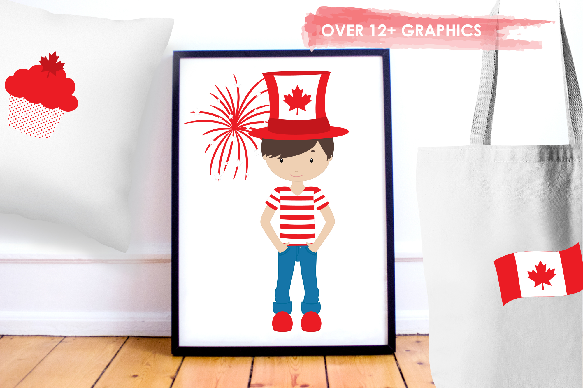 Canada Day graphics and illustrations example image 5