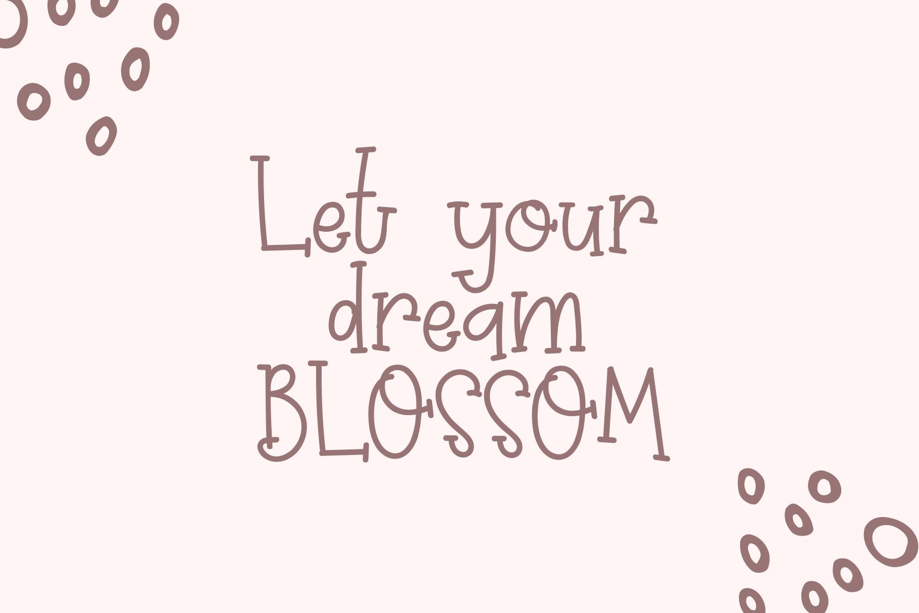 Prim Rose - Lovely Handwritten example image 2