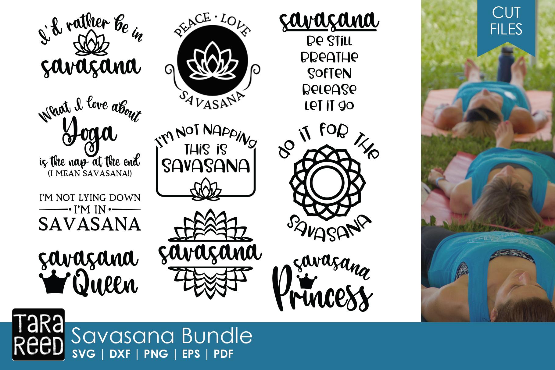 Yoga and Meditation MEGA Bundle example image 4