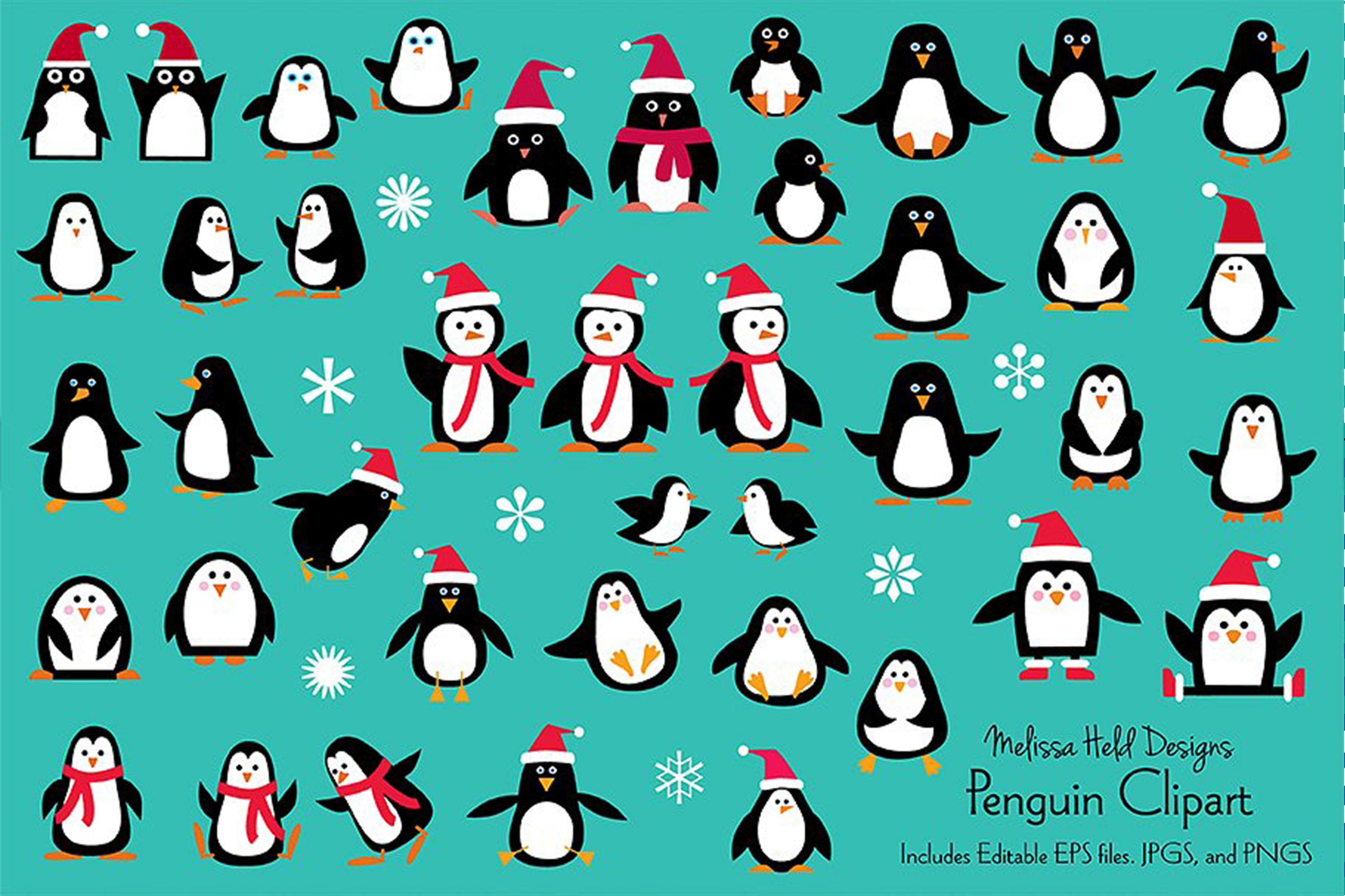 Penguin Clipart example image 1