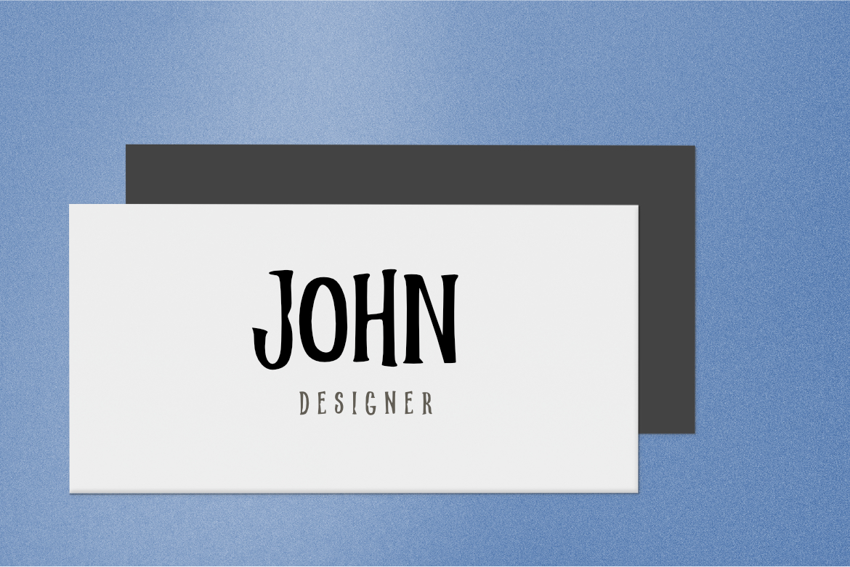 Brush Font Bundle example image 7