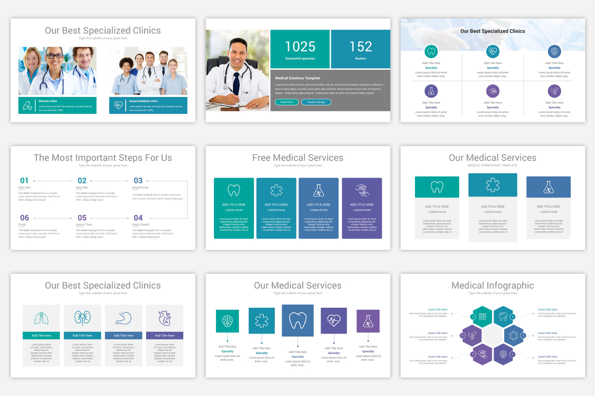 Medical Keynote Template Solutions example image 10
