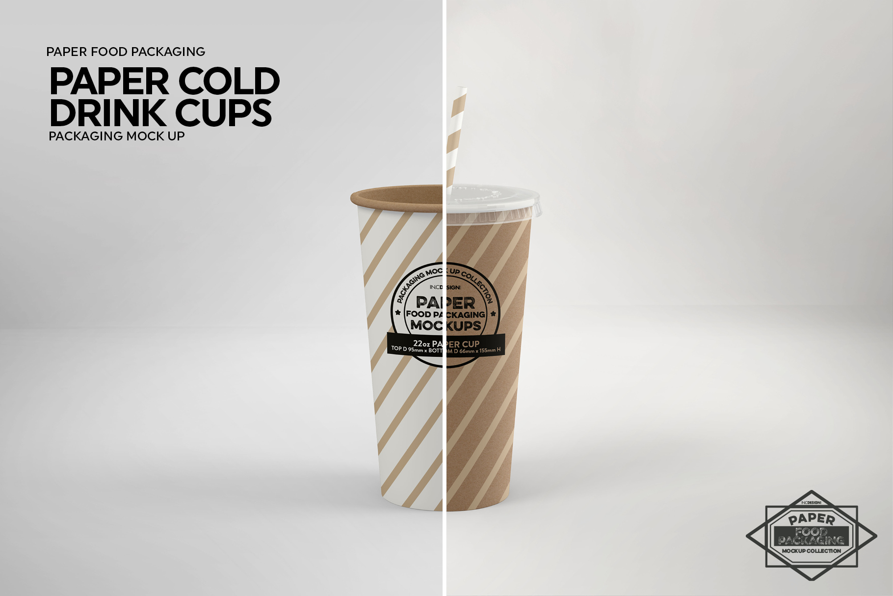 Paper Drink Cups Packaging Mockup example image 13