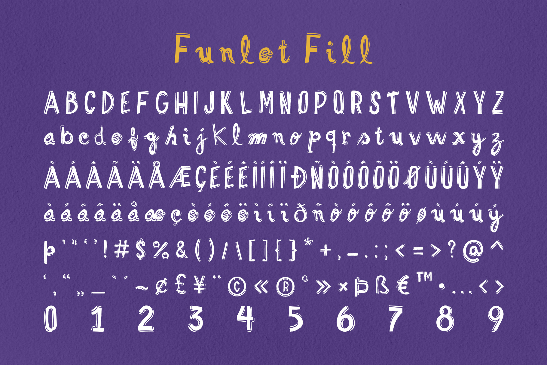 Funlet Typeface example image 3
