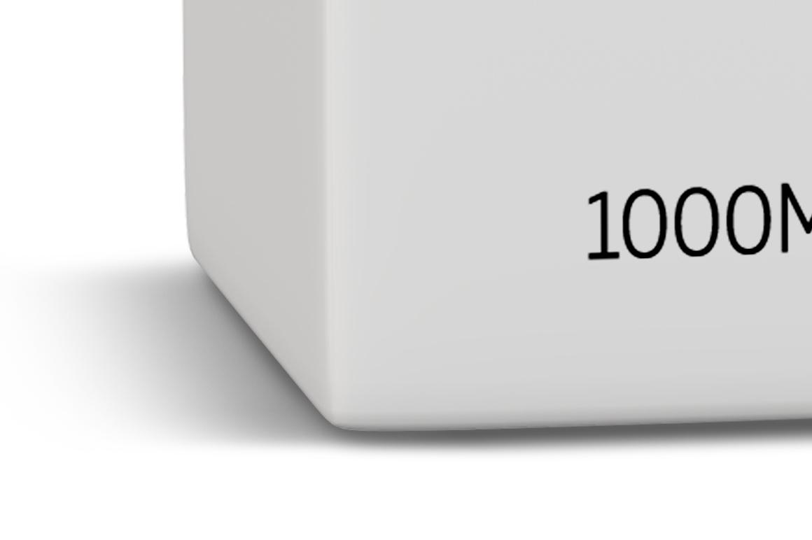 Mockup Package Tetra Brik Square 1L example image 3