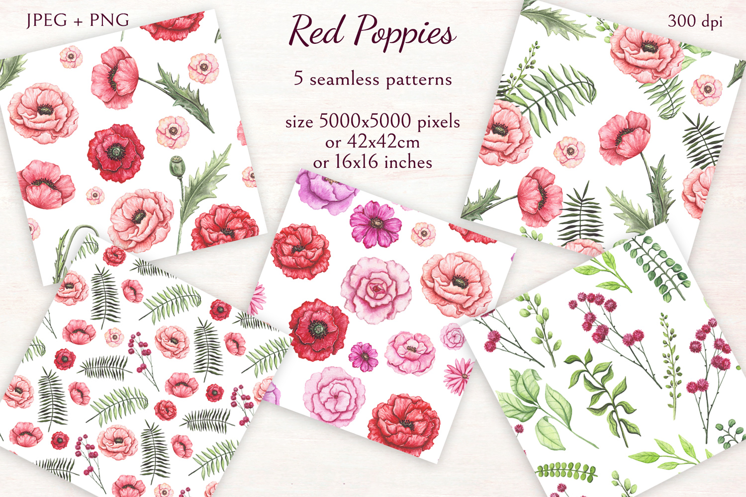 Red Poppies example image 8