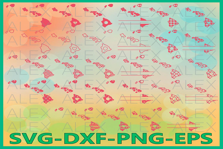 Hawaii State SVG, Hawaii SVG files for Cricut, Hawaii Svg example image 1
