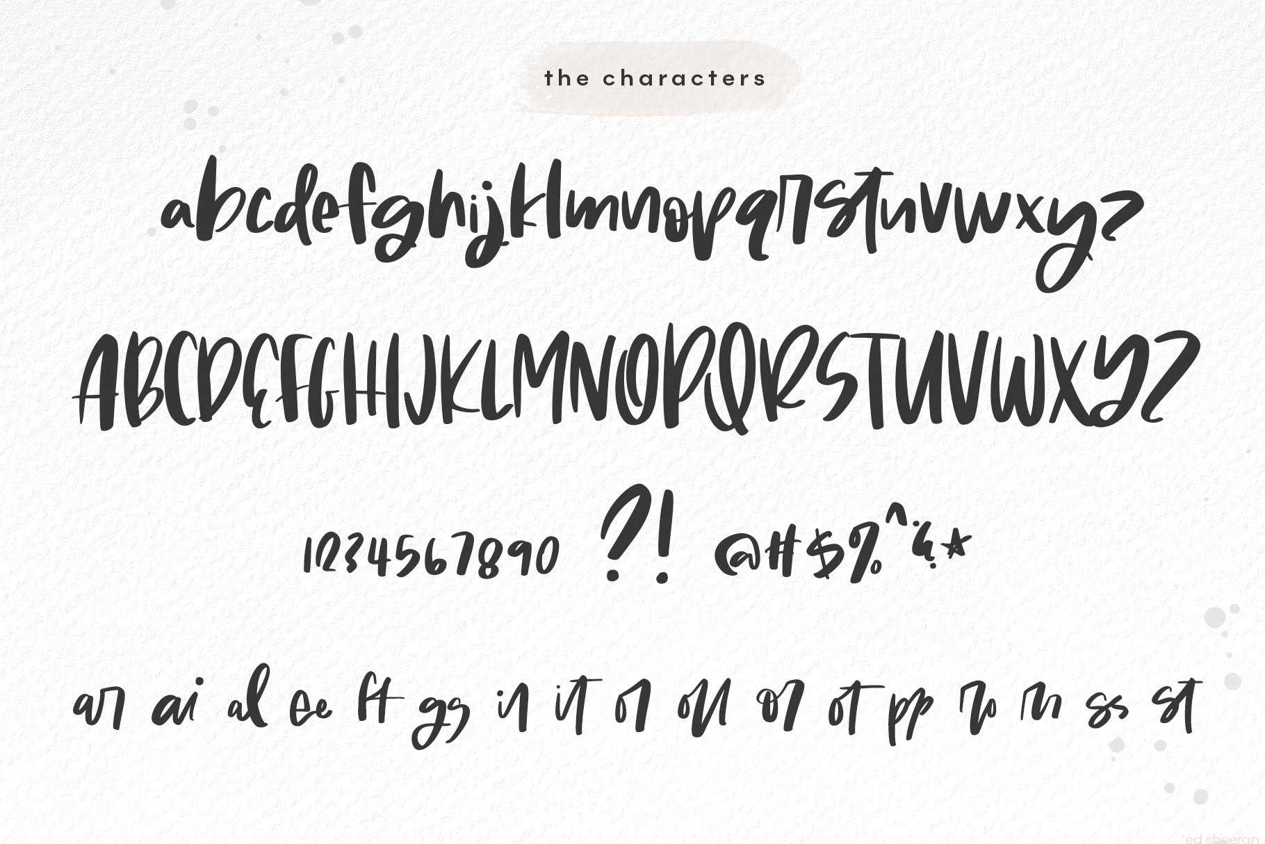 Molly & Elroy - A Bold Handwritten Script Font example image 10