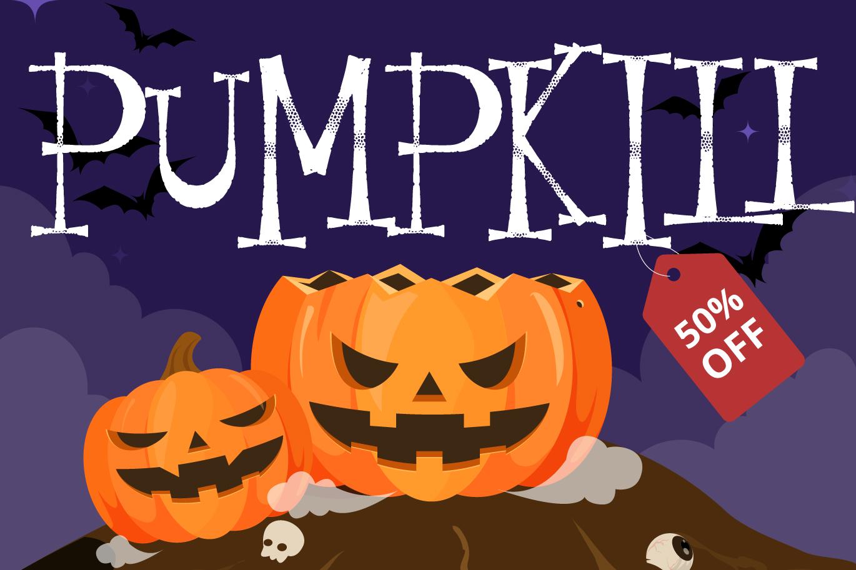 Resquro Halloween | Decorative Font example image 5