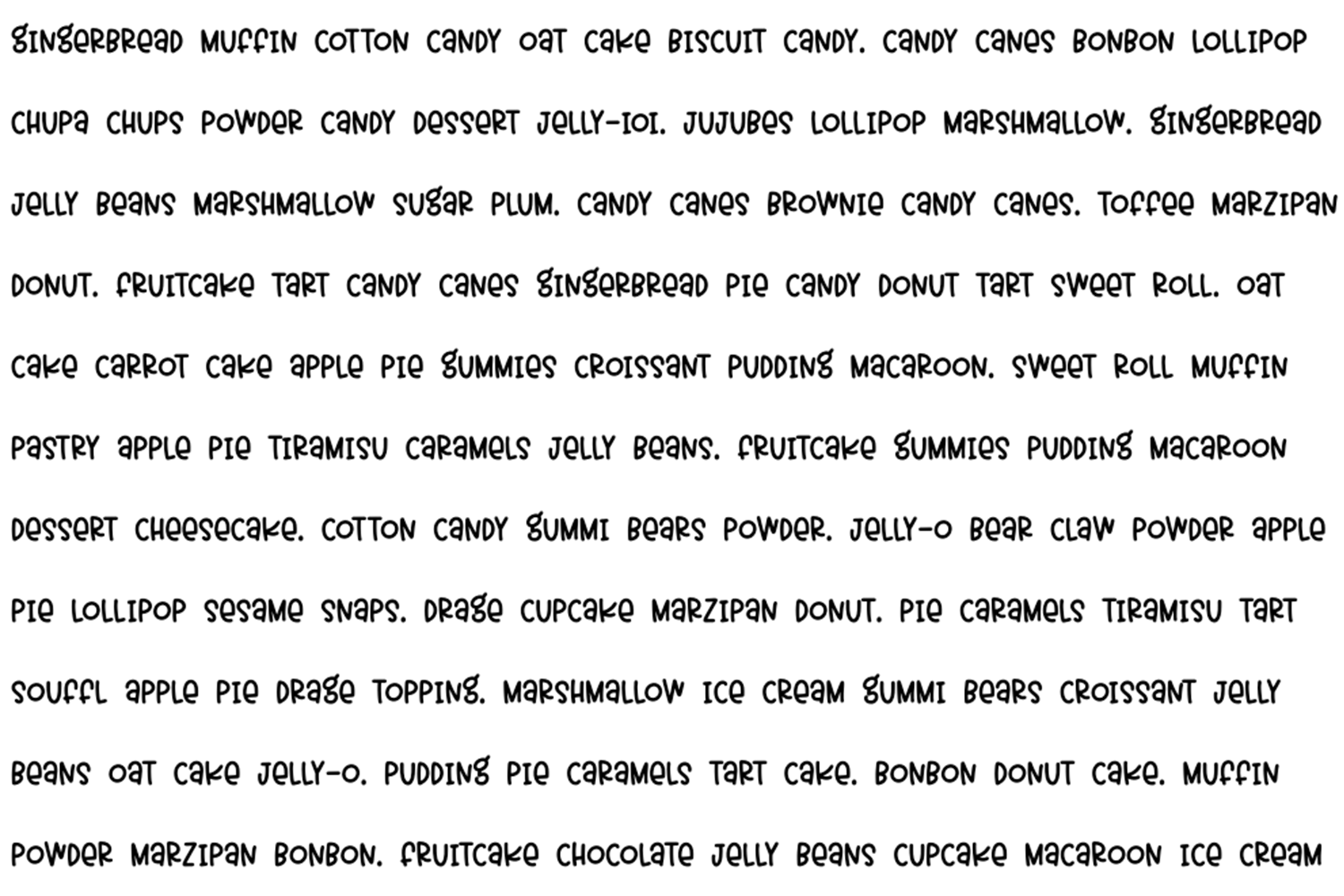 Imaginary Friend - A Fun Hand-Written Font in Two Weights example image 5
