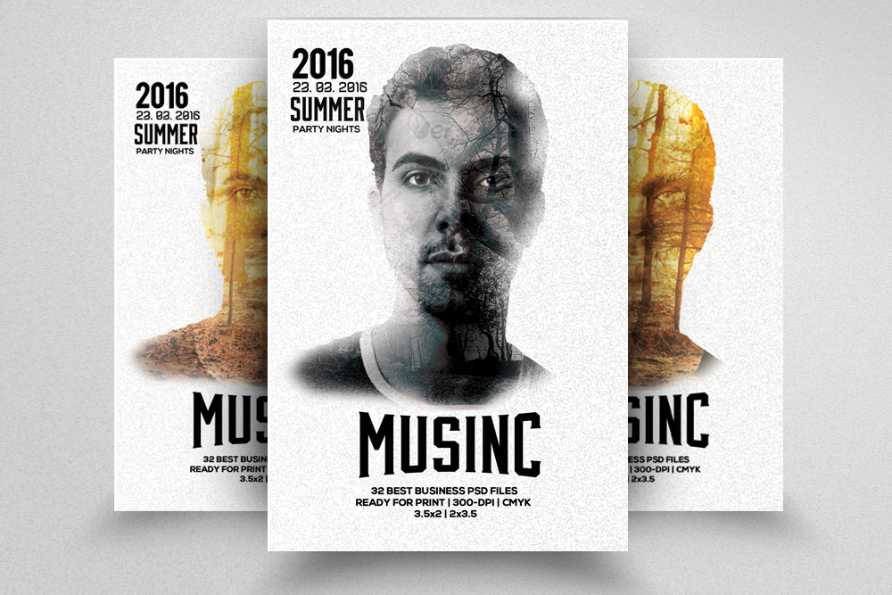 Artist Music Flyer example image 1