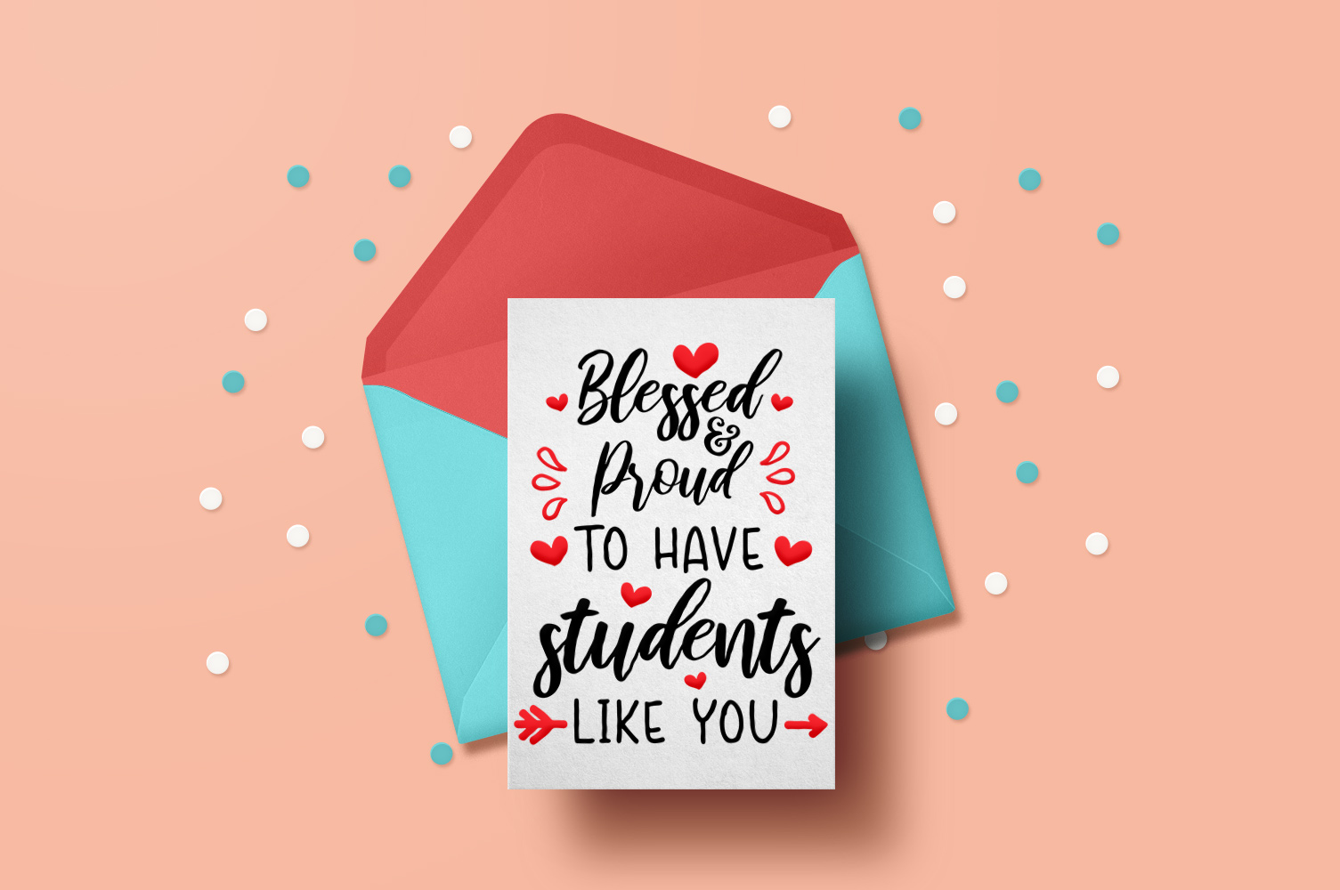 Teacher Valentines day svg example image 1