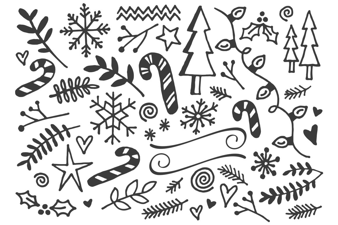 Holiday Font Pack example image 12