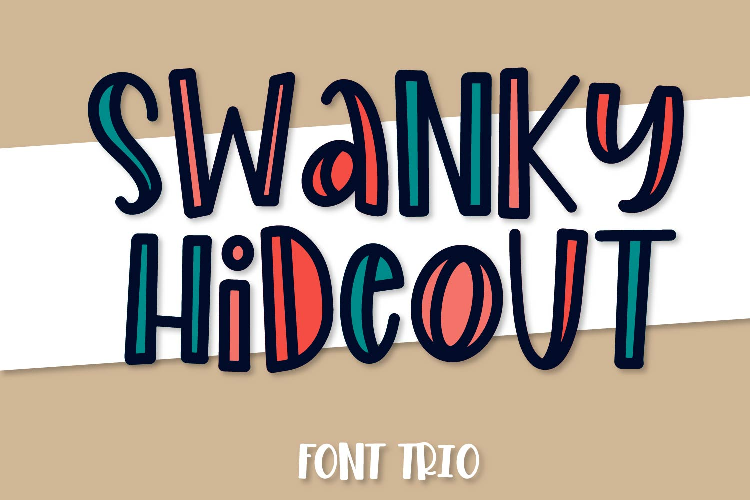 Swanky Hideout - A Font Trio example image 1
