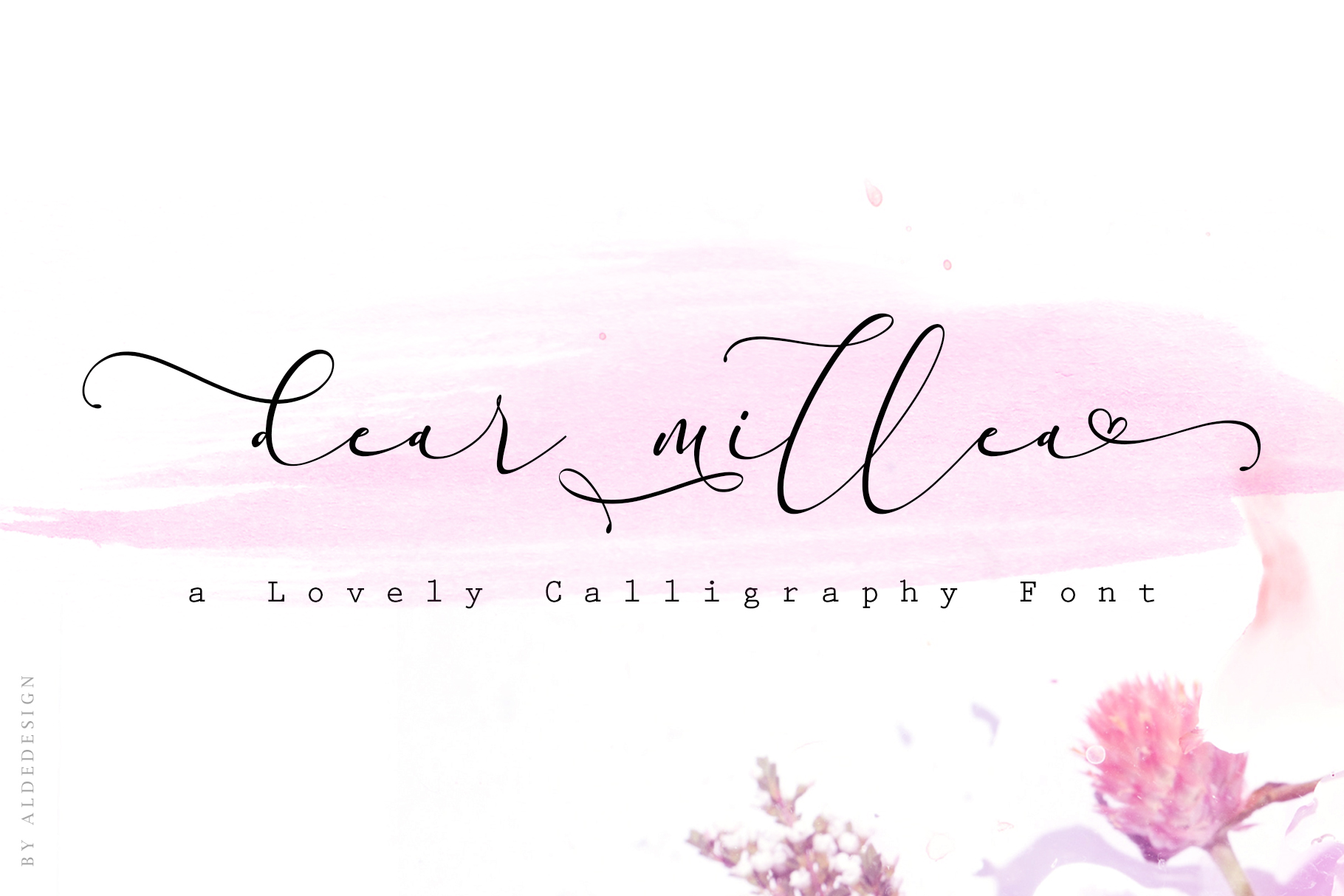 Everything Calligraphy - a Lovely Font example image 12