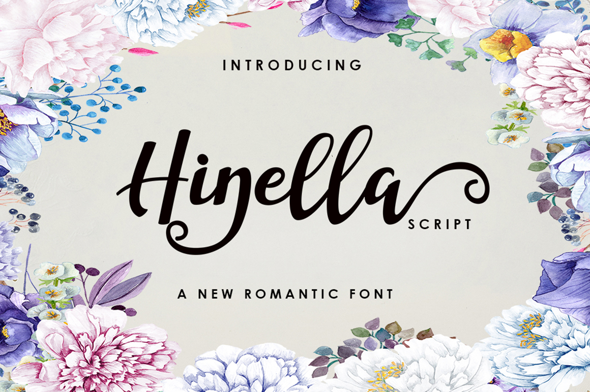 Hinella Script example image 1