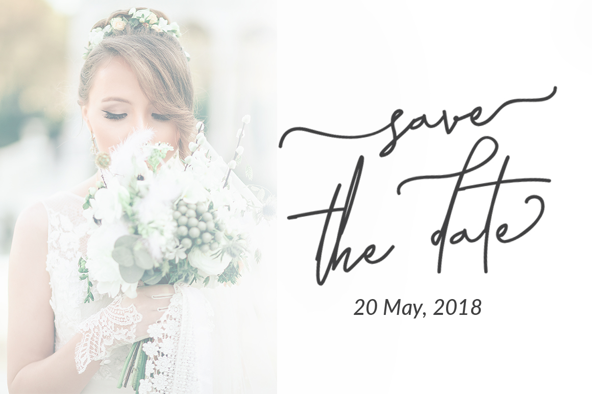 Laura Hellaw a lovely script font example image 5