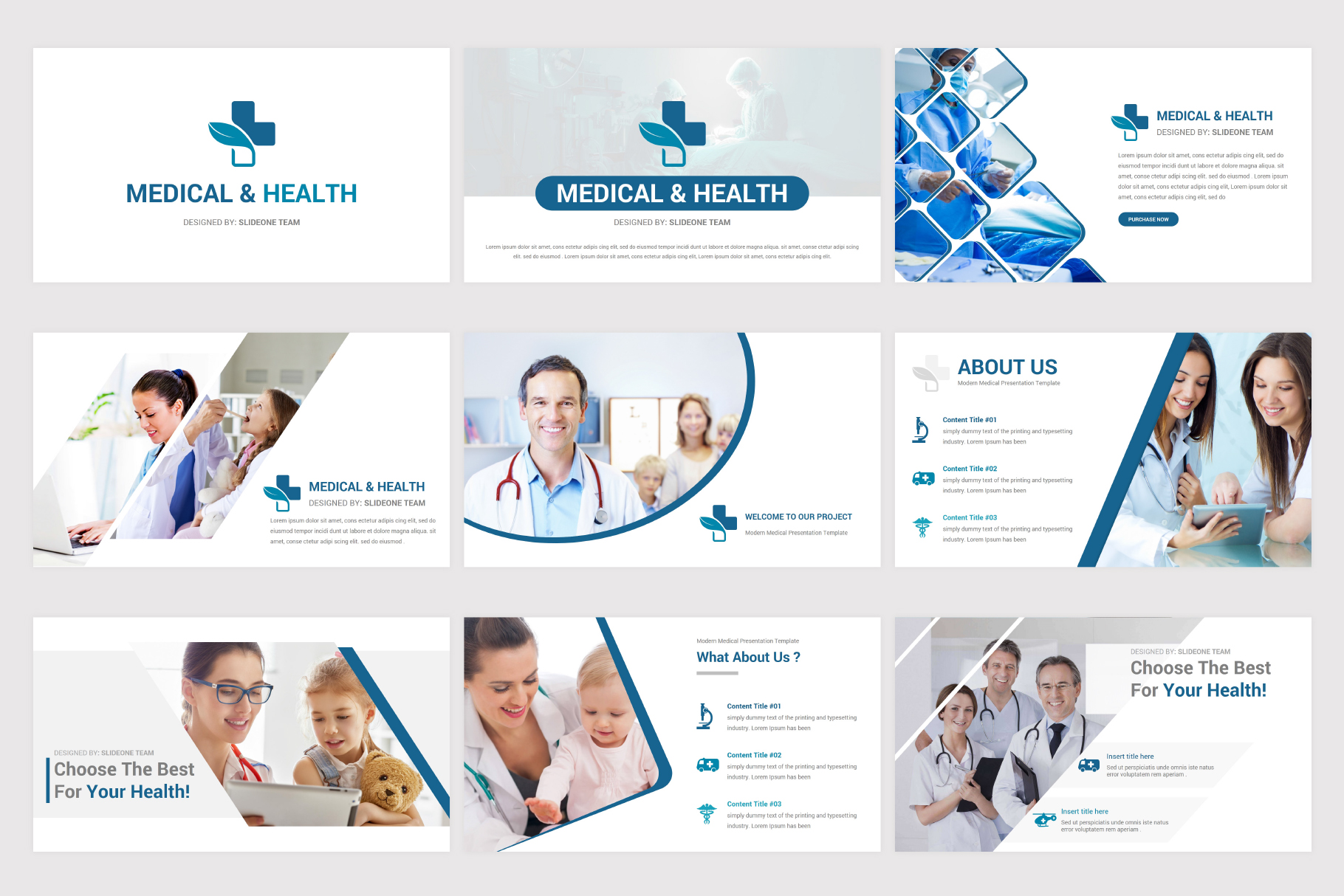Medical & Health Keynote Template example image 5