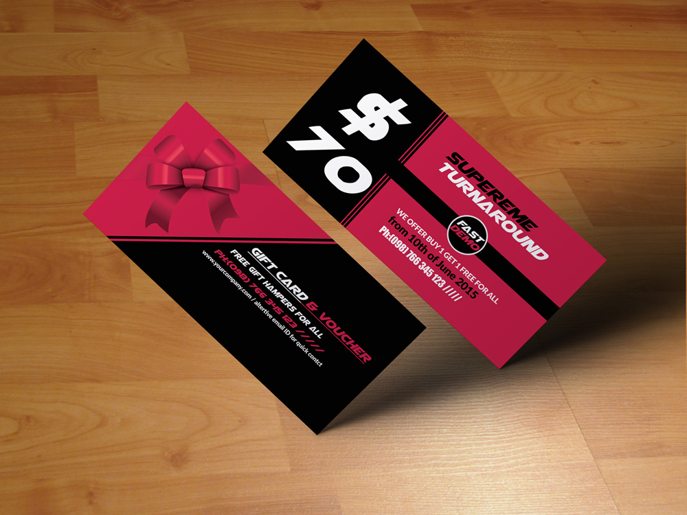 Business Gift Vouchers example image 2