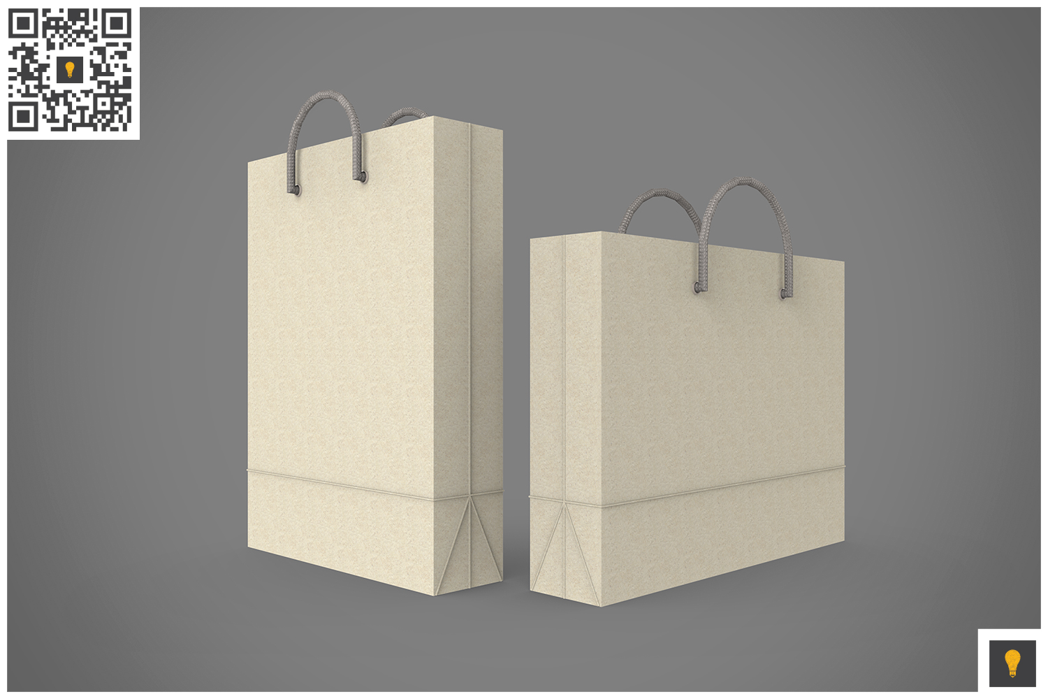 Shopping Bag 3D Render example image 3