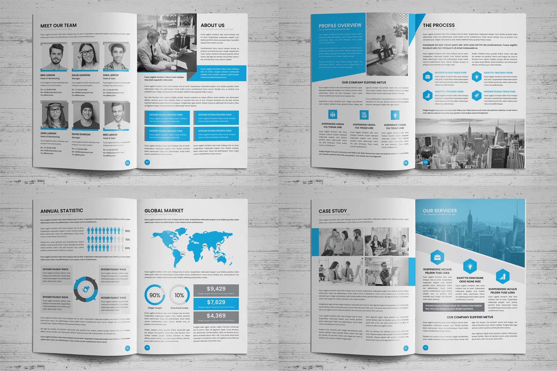 Annual Report Design v6 example image 16