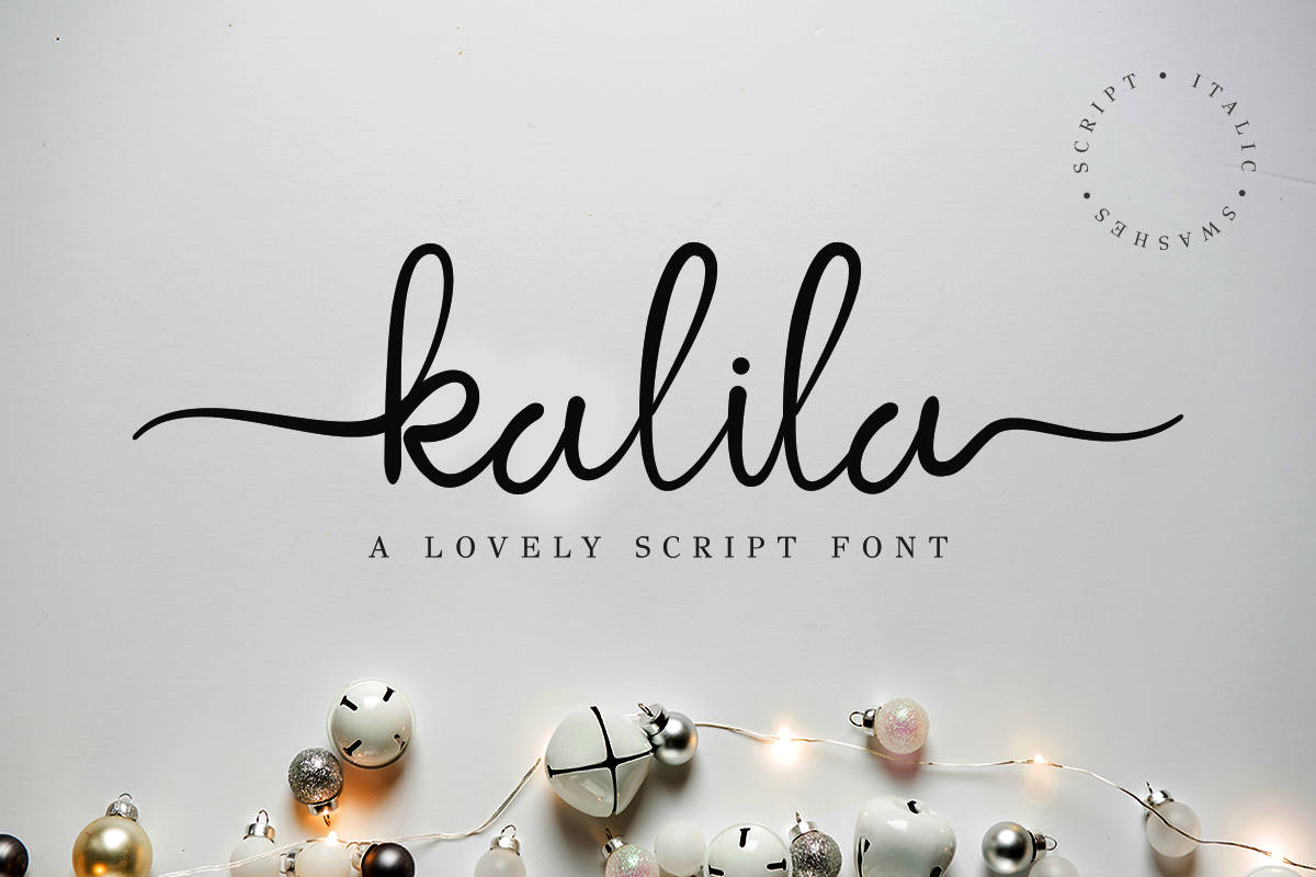 Kalila Lovely Script example image 2