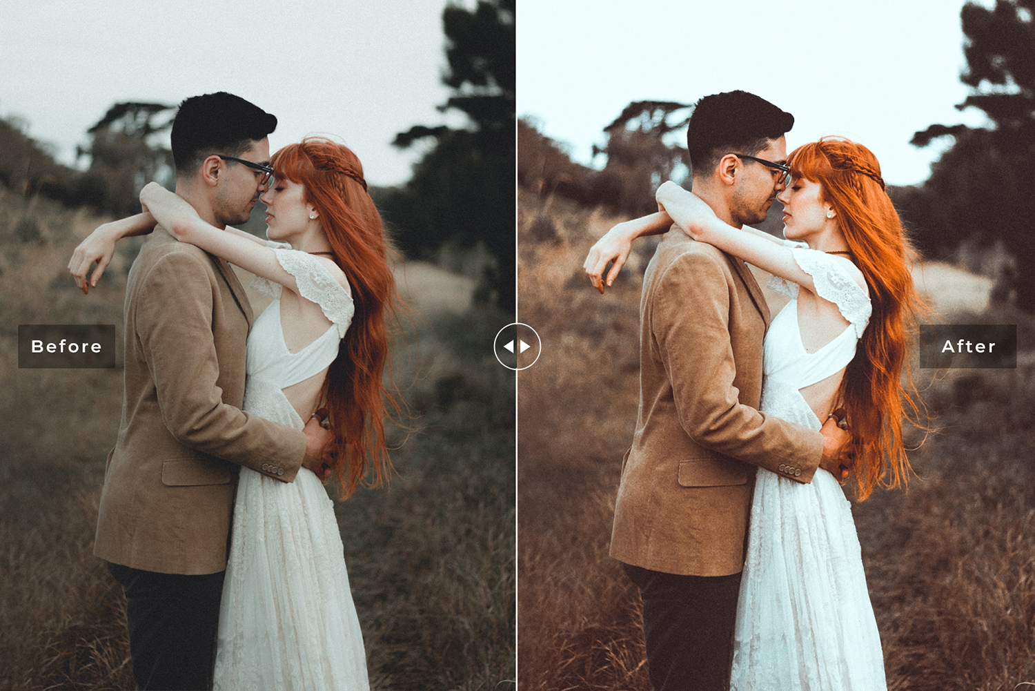Couple Goals Mobile &amp Desktop Lightroom Presets Pack example image 2