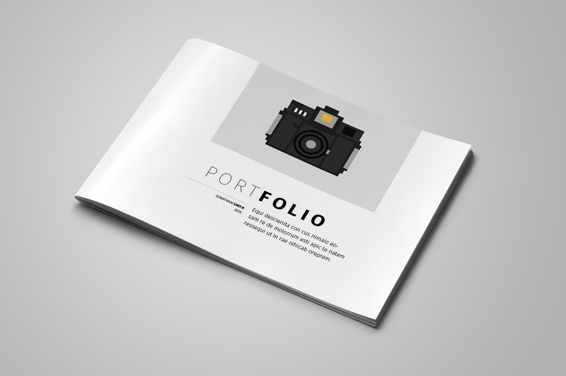 Portfolio Brochure Template example image 1