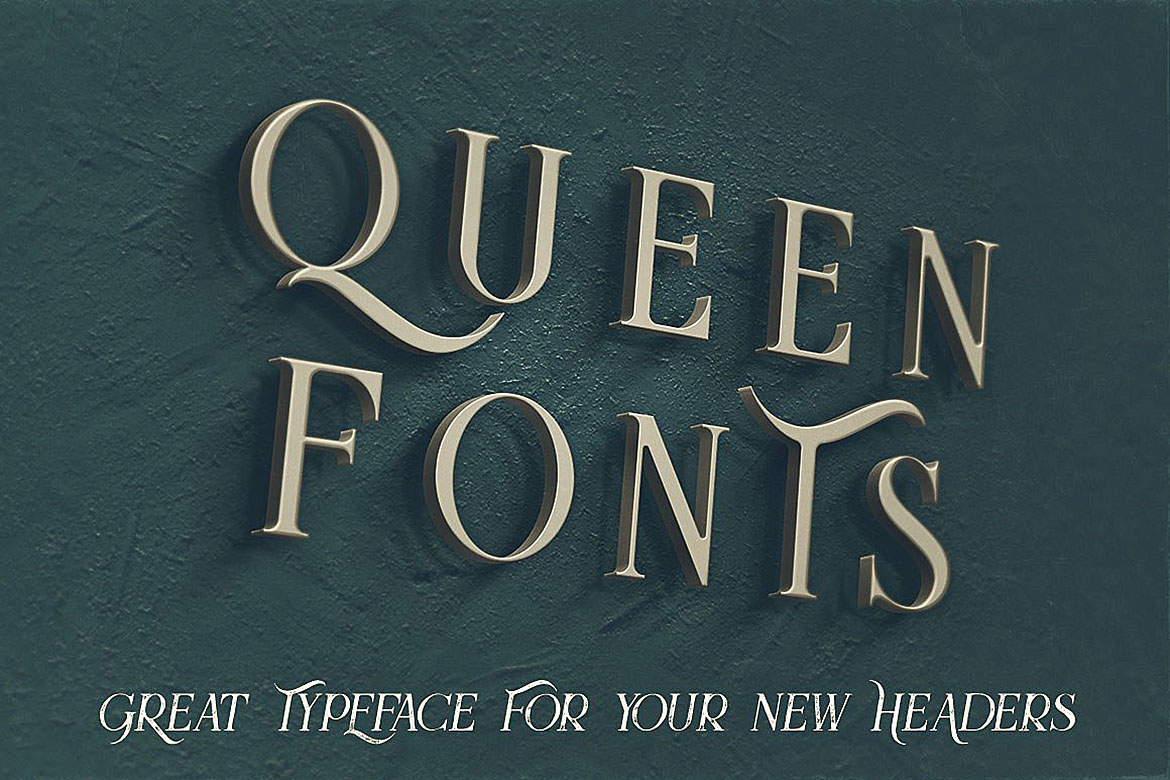 Queen - Display Font example image 5