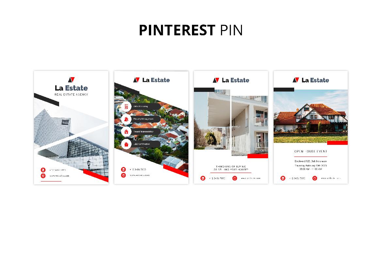La Estate Real Estate Social Media example image 10