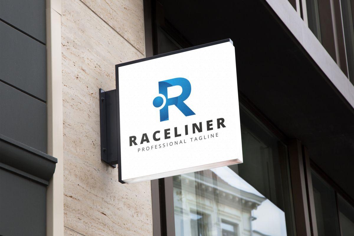 Raceliner R Lettre Logo example image 4